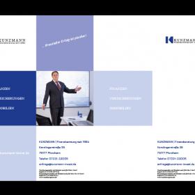 Kunzmann Finanzberatung Präsentationsmappe