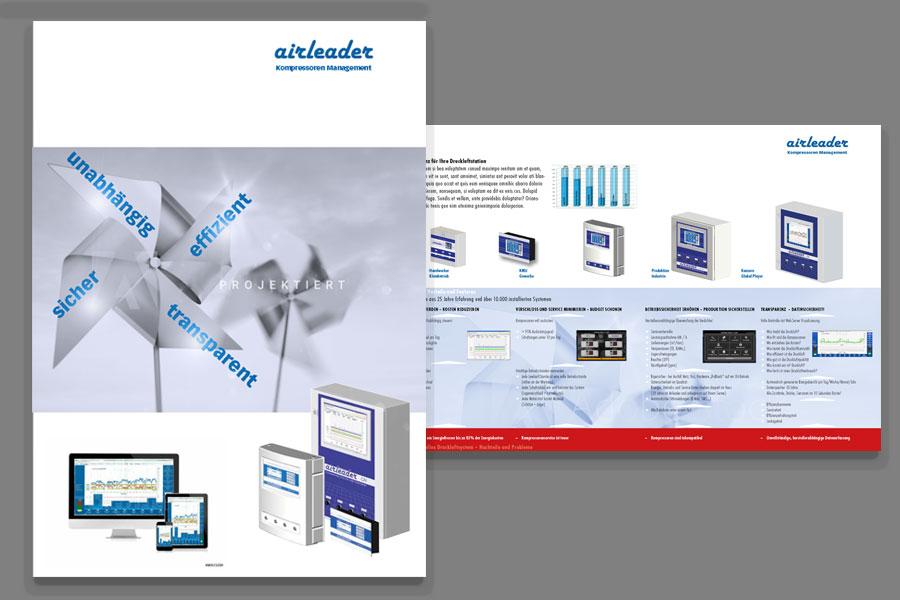 Broschüre Airleader (projektiert)
